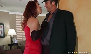 huge-boobed widow Nicki Hunter wishes a little awesome sex