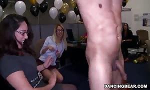 gonzo stripper dancing and ramming slender ladies
