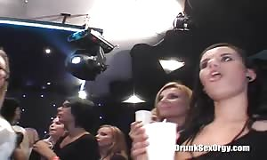 Two guys are getting your mitts on a stunning face-fuck by a inebriated tramp