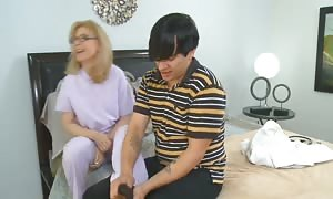 Nina Hartley and Her young guy