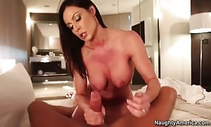 horny hot mother I would like to fuck Kendra Lust mounts a vast shlong!