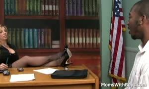 grew older boss Sara Jay multi-racial Sex Applicant