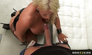 Luxury Alura Jenson shall we this huge shlong truly deep in!