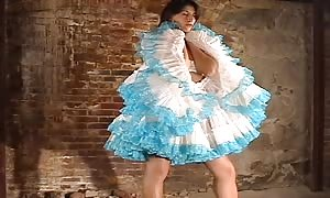 sensuous and slender new comer can get rid of her dress on the tryout