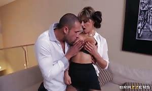 Carlo Carerra drills large titted Esperanza Gomez