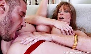 Darla Crane & Danny Mountain in My buddies aroused mom