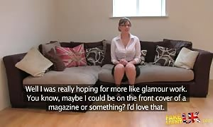 cute lady is getting your mitts on banged in the video by faux Agent UK