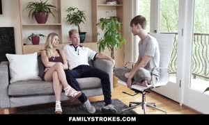 FamilyStrokes - hot step milf