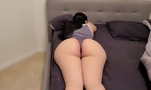 I woke my humungous booty Step cougar up with my shaft