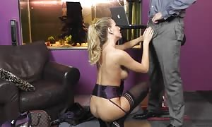 Interviewer is getting your mitts on