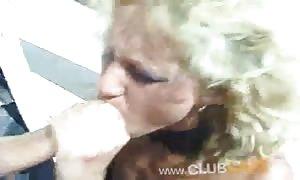 Cum-loving sluts are sharing his manhood and drinking sperm