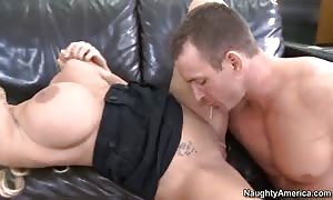 Holly Halston gets pleasures by Tj Cummings