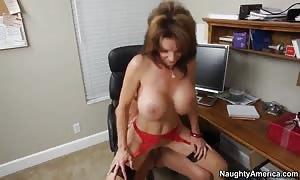 I pounded Amy's large