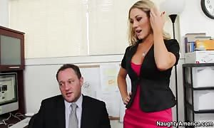 Amber Ashlee will get called into her boss's office