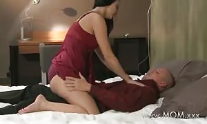 mommy wife nails her toyboy