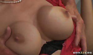sexy lady Tanya Tate helps the professor get comfy in the university