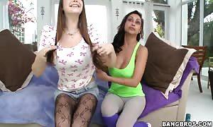 awesome four-way sex with Pocahontas Jones,  Priya Rai
