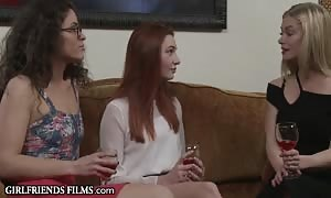 Aspiring red haired teen star Seduced By mom I would like to fuck Acting Coach - GirlfriendsFilms