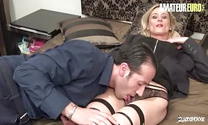 LaCochonne - Cali Cruz sleazy French mom I would like to fuck will get Dicked Down By Her aroused boyfriend - AMATEUREURO